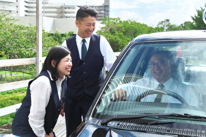 ②なぜ、「京成グループタクシー」なのか?