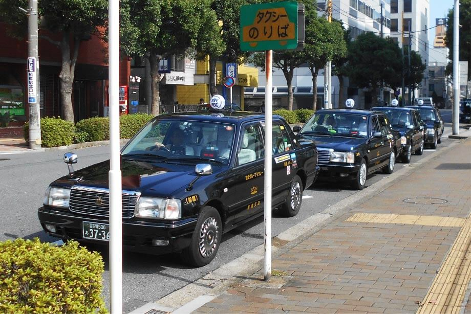タクシー待機場所