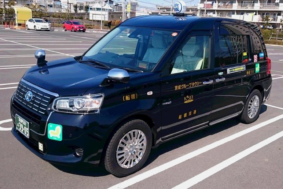 新型タクシー車両(ジャパンタクシー)