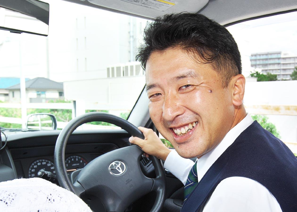 私もタクシードライバー未経験でした。2種免許取得サポートや丁寧な指導で、安心してスタート出来ました。