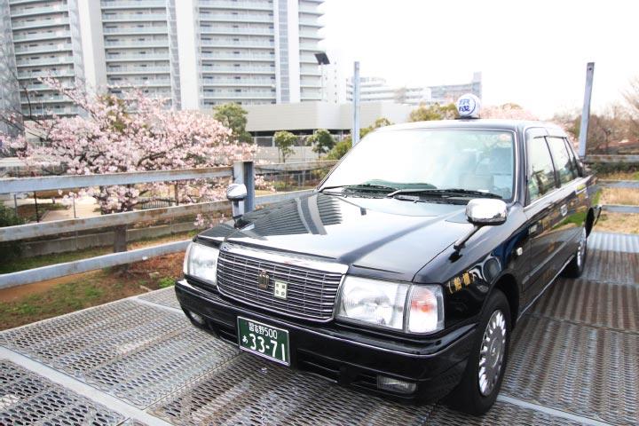 タクシー車両(セダンタイプ)
