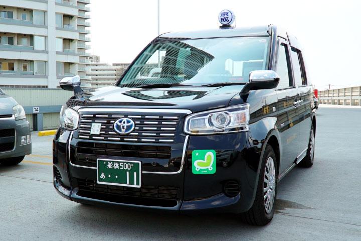 新型ジャパンタクシー